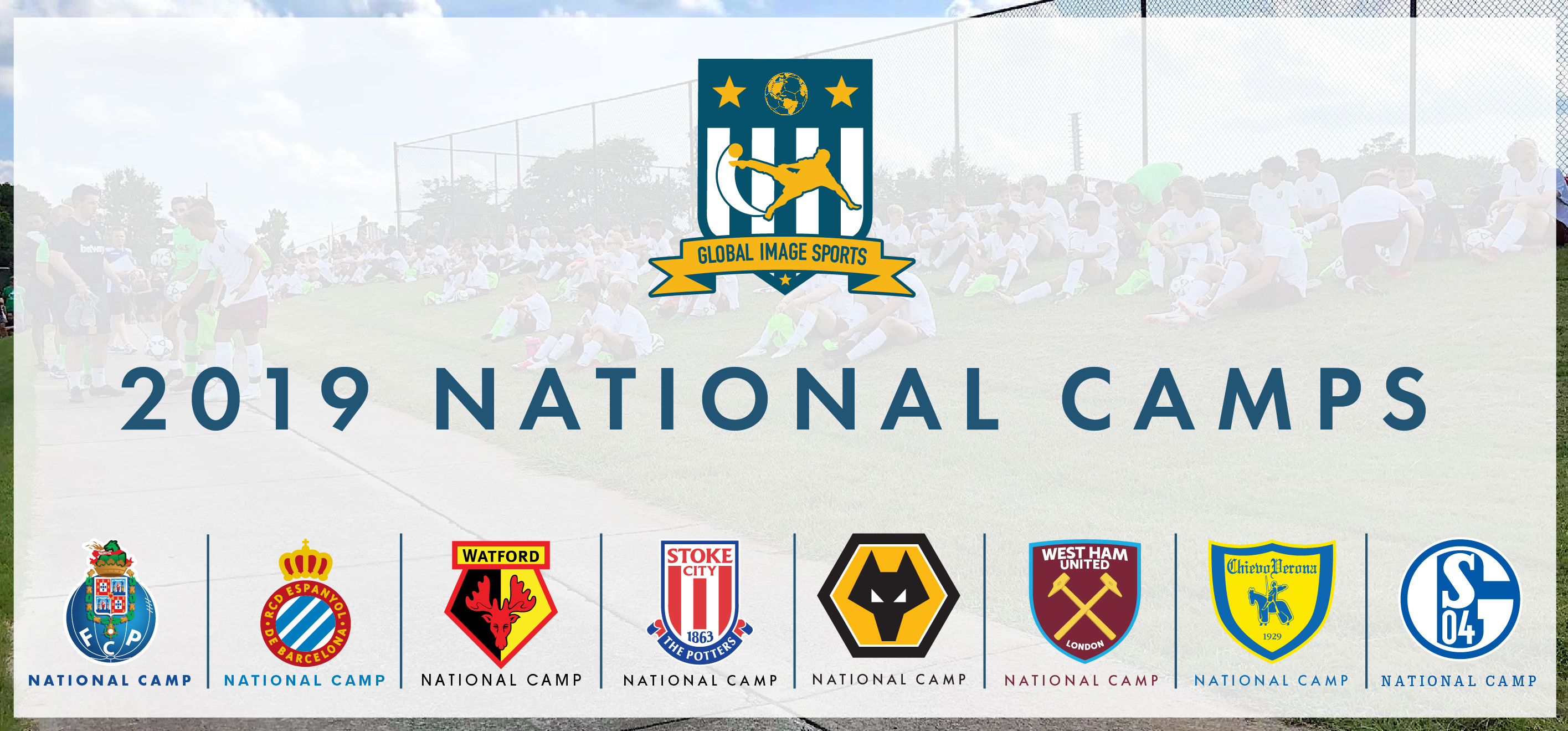 2019 National Camps Announced! *New Dates Added*
