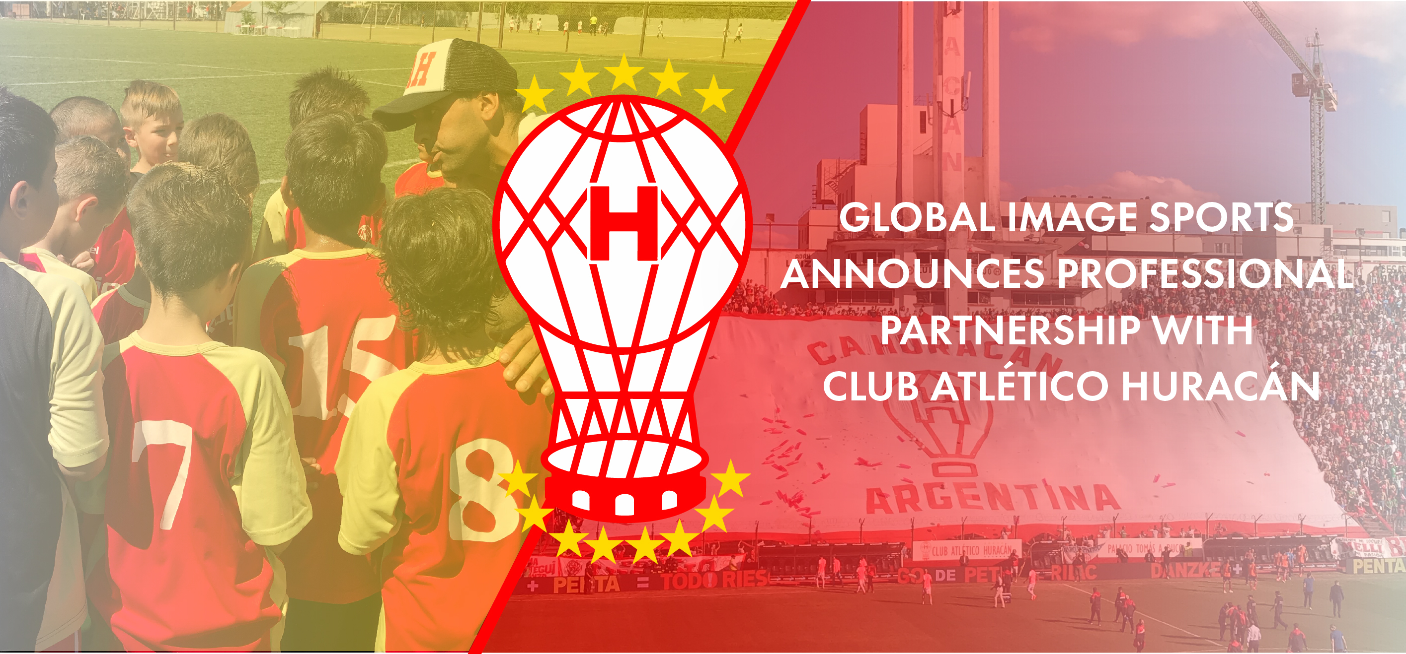 Global Image Sports announces Professional Partnership with Club Atlético Huracán