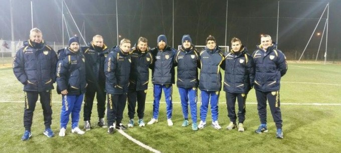 Image: Chievo Verona 2017 Coaching Education Trip