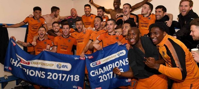 Image: BACK TO THE EPL! WOLVERHAMPTON ARE PROMOTED!