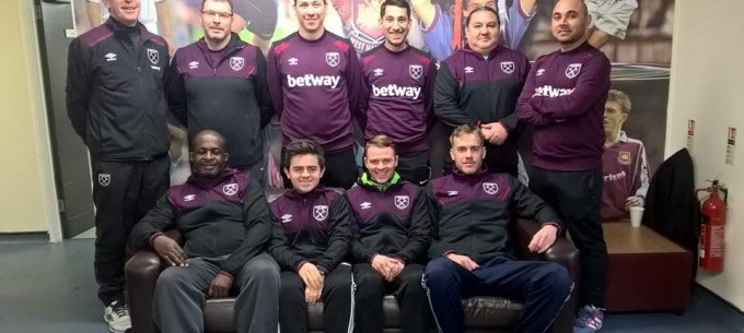 Image: The West Ham United Coaching Diploma Course Recap