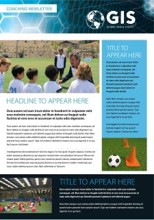Coaching Newsletter